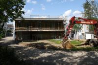 Baustelle am Cläre Grüneisen Haus