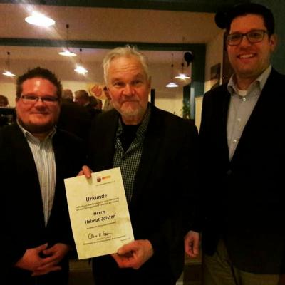 Christian Steins, Helmut Joisten, David Lutz