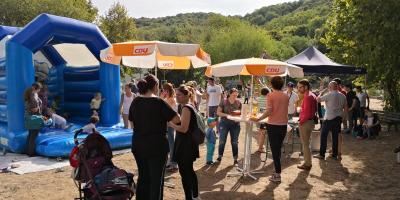 Volles Haus beim diesjährigen Spielplatzfest am Hindenburgplatz