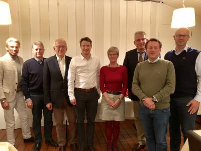 Der neu gewählte Ortsvorstand CDU LiKüRa / Beuel Süd.