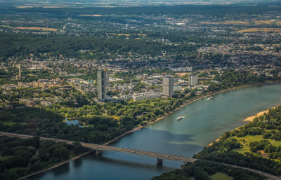 Luftbild Bundesviertel Bonn, Copyright: Francoise Perz