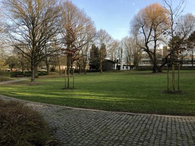 Park an der Burg Medinghoven (Foto:B. Moll)